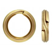 14 K Yellow Gold Split Rings