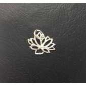 Sterling Silver Lotus Flower