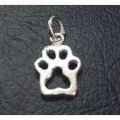 Sterling Silver Lion Paw