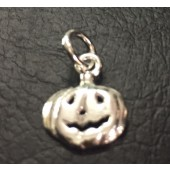Sterling Silver Halloween Pumpkin