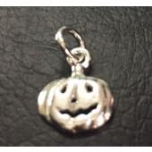 Sterling Silver Halloween Pumpkin
