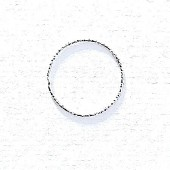 Sterling Silver Diamond Cut Wire Round Ring