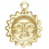 Gold Filled Sun Charm 8.0mm