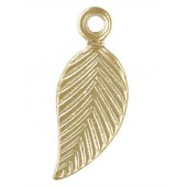 Gold Filled Leaf Charm (Right) 5.0x10mm