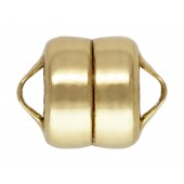 14/20 Gold Filled Magnetic Clasps - Button Shape