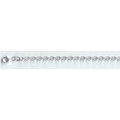 Sterling Silver Disco Chain 4 MM