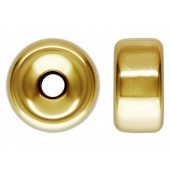 14 K Yellow Gold Roundels